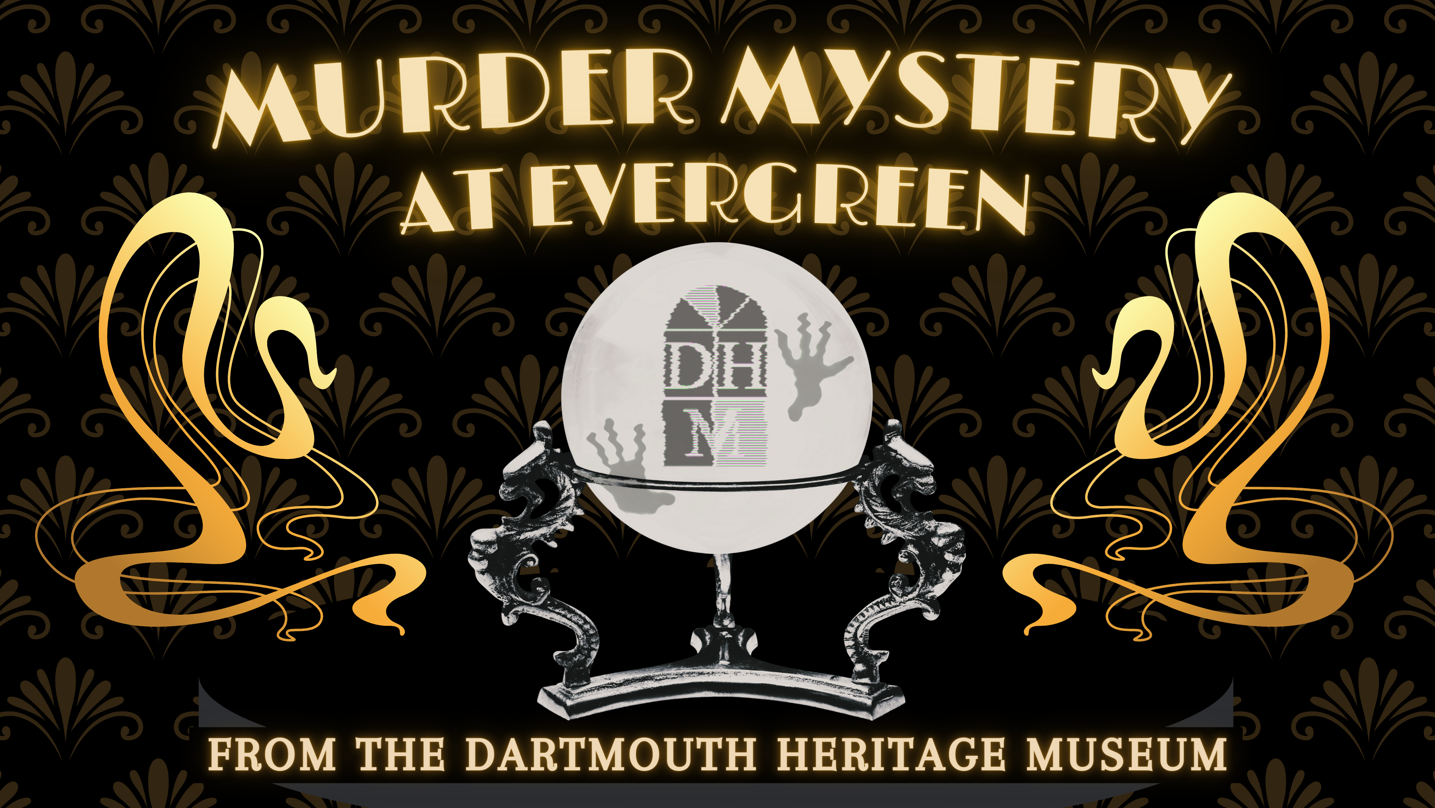 Poster for 2021 Murder Mystery Nights